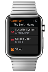 Alarm.com Apple Watch