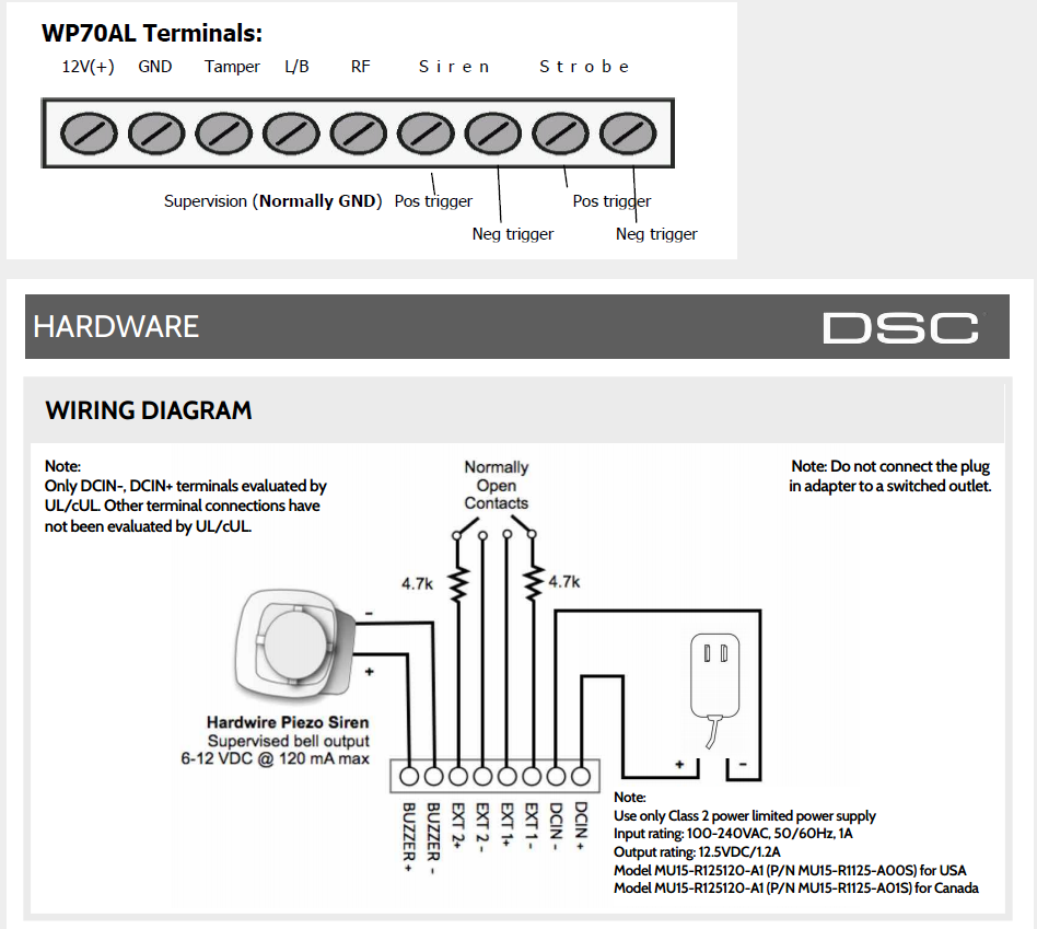 Dsc Siren Wiring Circuit Diagram Symbols Pc Link Free Vehicle Diagrams U2022 Rh Addone Tw 1832