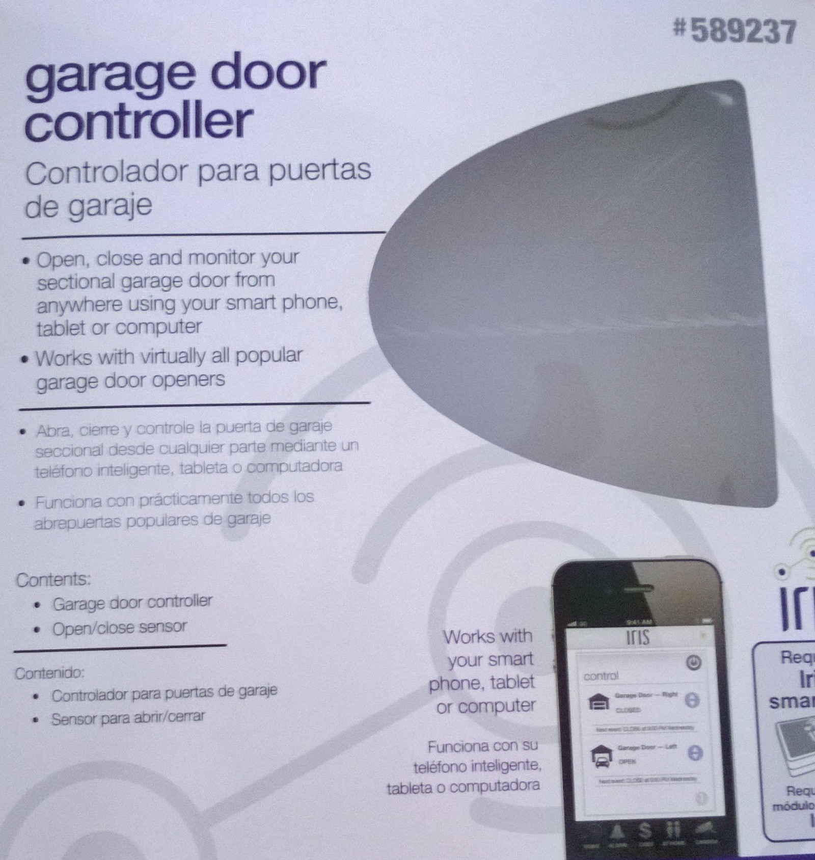 Lowes Garage Door Controller Iris Surety Topic Wiring A Microswitch Suretydiy Security And Automation Wp 20140712 003